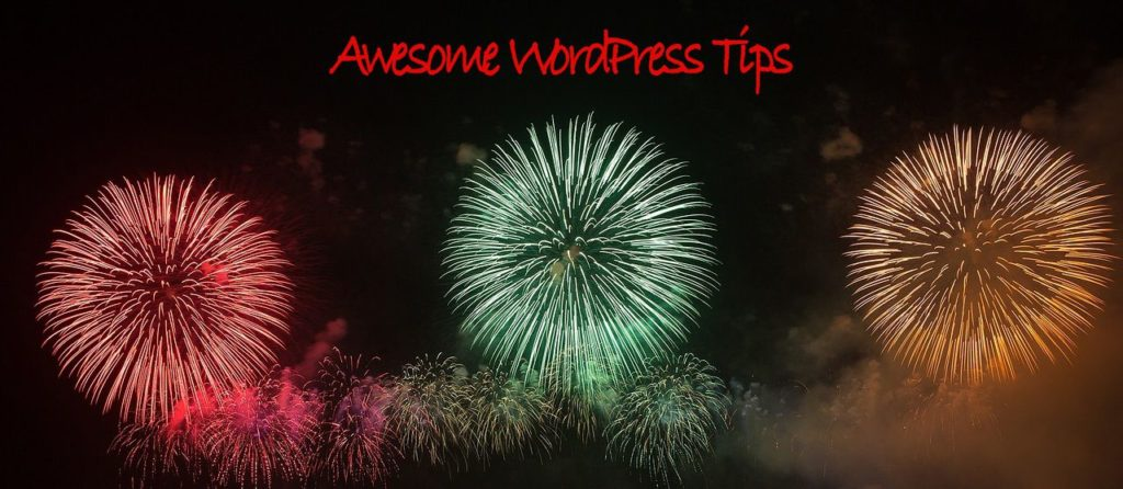 Another Awesome WordPress Tip
