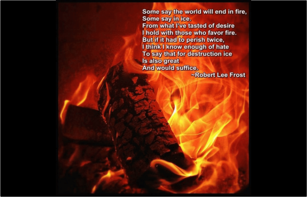 Fire and Ice and Love