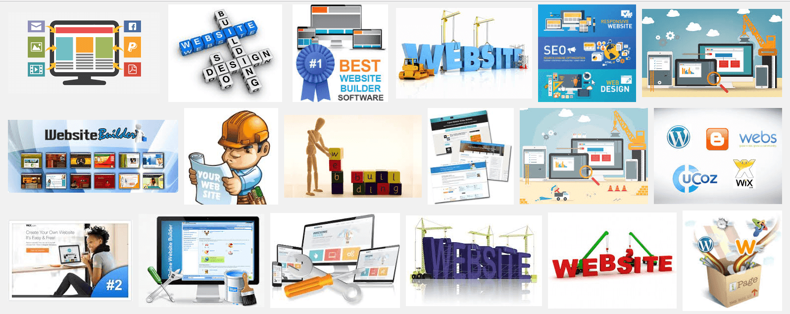 Competing with Wix Weebly Sitebuilder Squarespace etc etc