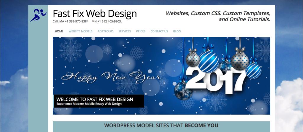 Fast Fix WordPress Web Design