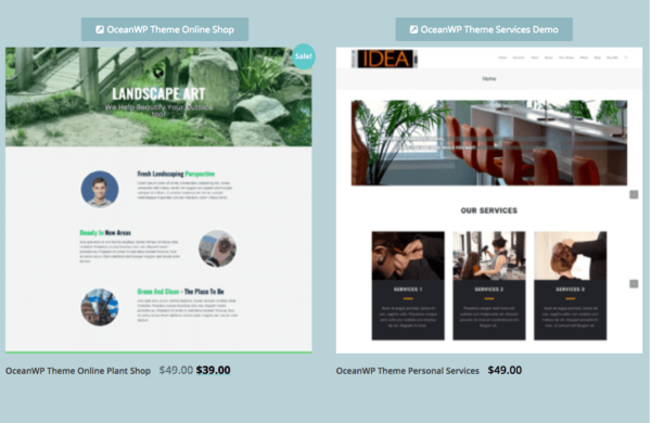 New $49 Elementor Websites